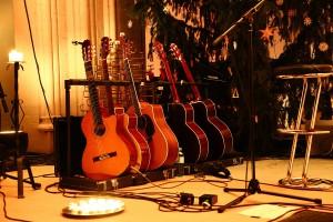 Gitarren weit