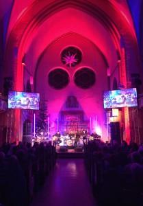 Die Christophoruskirche in Berlin - was für eine Atmosphere!